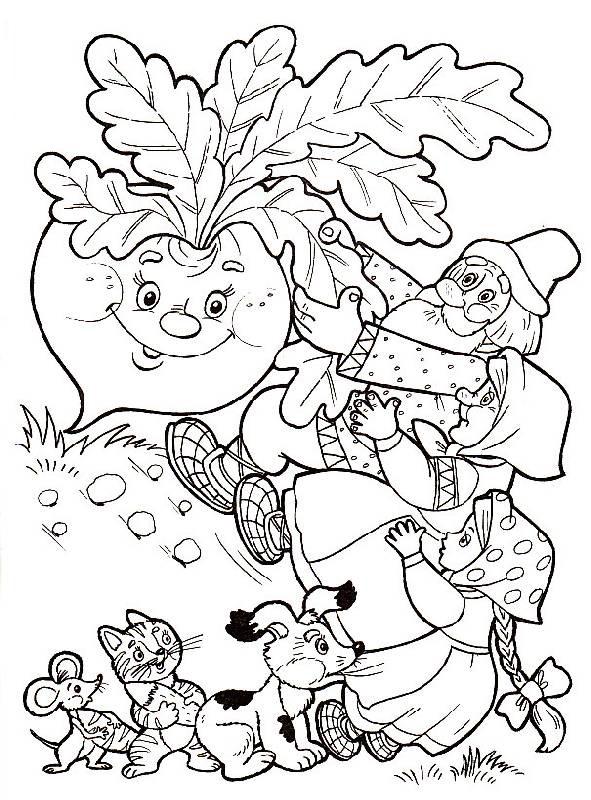 Раскраски Герои сказок - детские раскраски распечатать ...