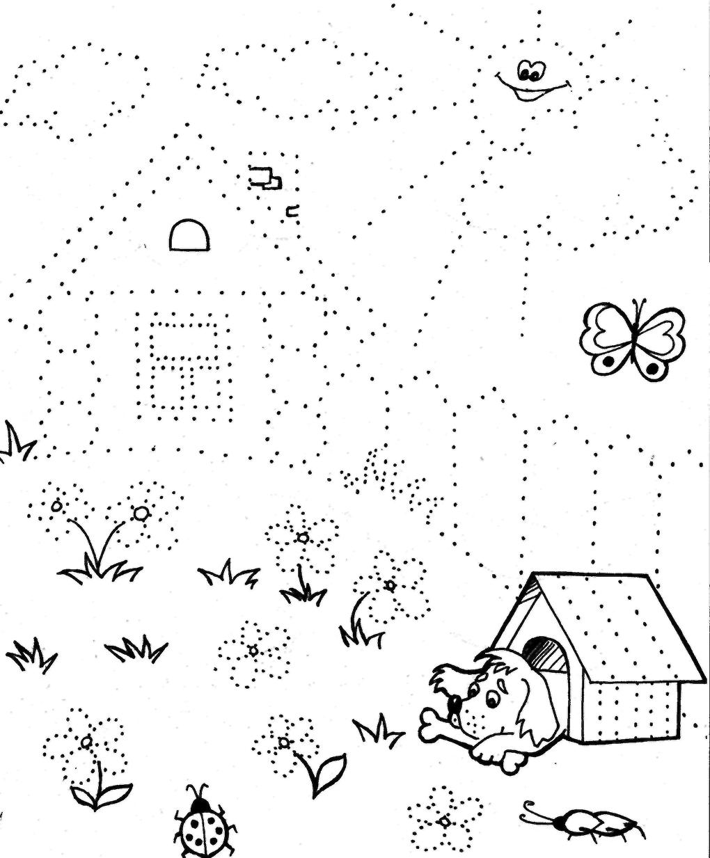 Игры для детей раскраски 4 года