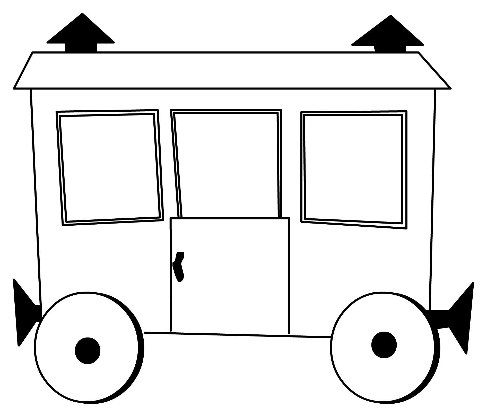 рисунок вагончики поезда парижским меркам