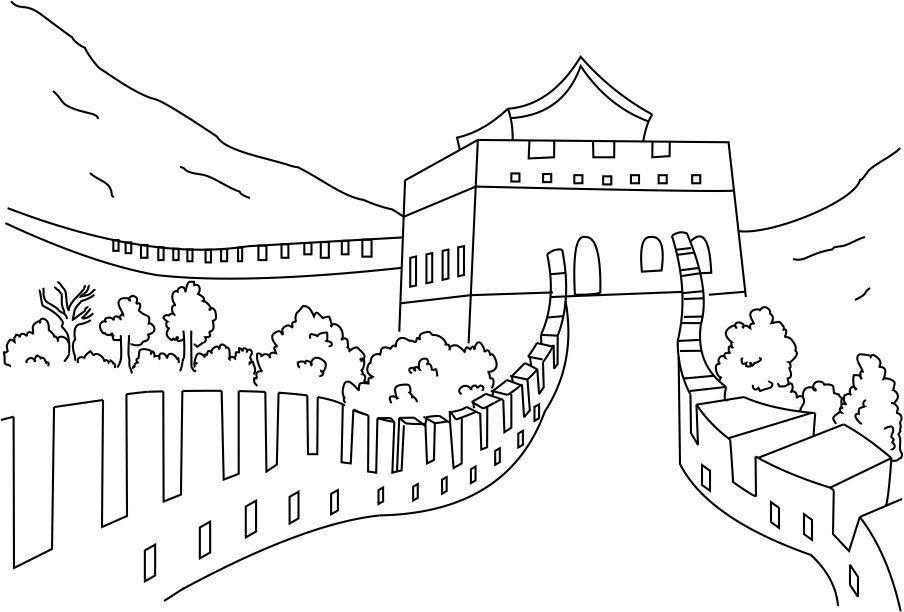 этической рисунки черно белые китайской стены достаточно сложно