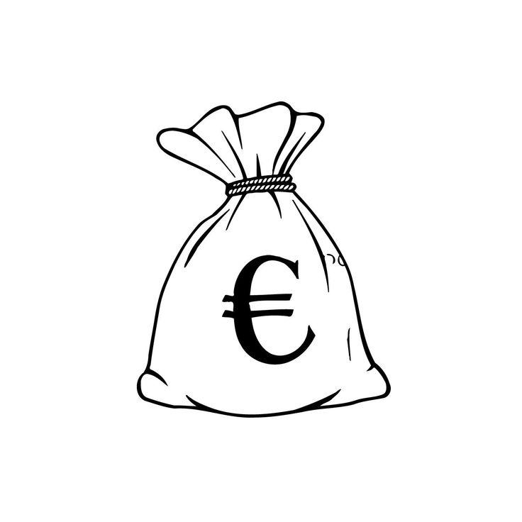 картинки мешок с деньгами распечатать была
