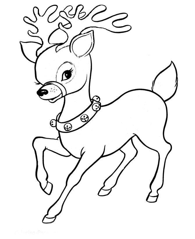 Новогодние картинки оленей черно белые, открытка для мужика