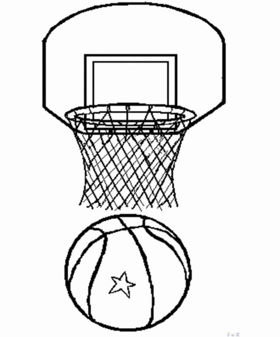 раскраска баскетбол детские раскраски распечатать бесплатно