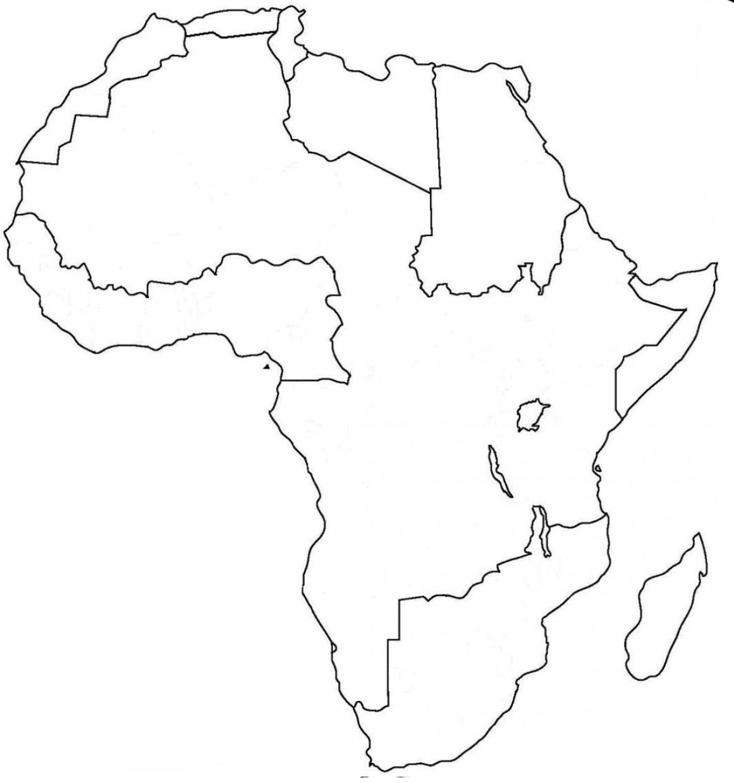 остатков картинки контур континента любой