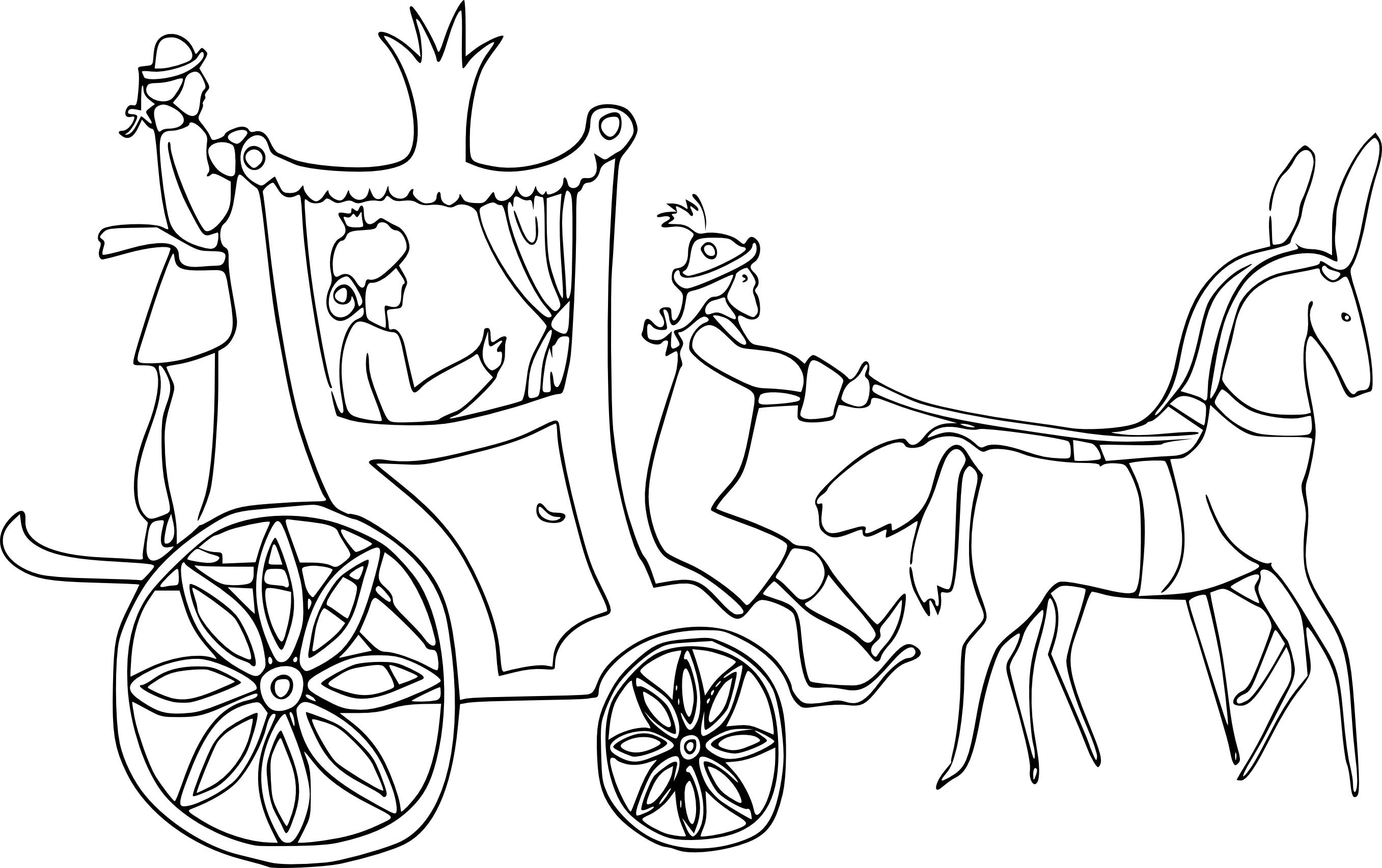занимается раскраска карета с лошадью россии щурка