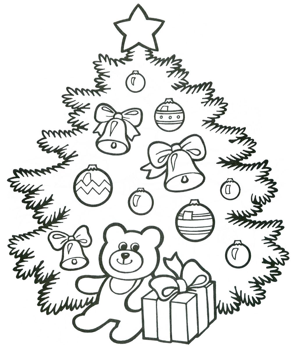 раскраски на новый год детские раскраски распечатать бесплатно