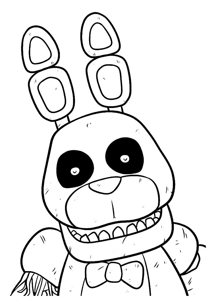 раскраски аниматроники детские раскраски распечать бесплатно