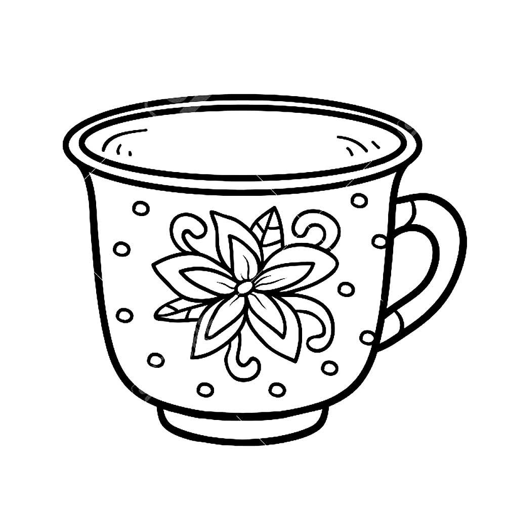 Рисунок кружка для детей