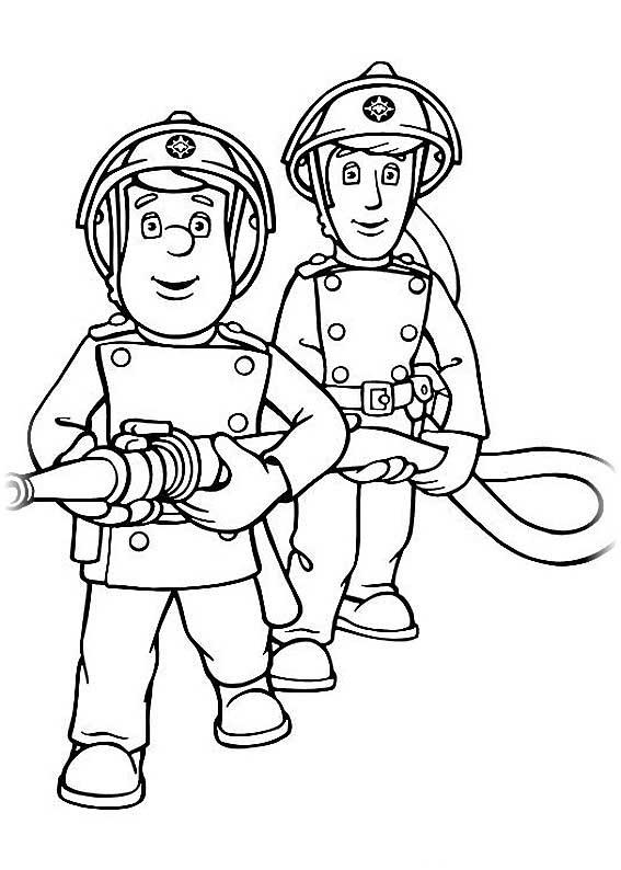 Спасатель картинки для детей раскраска