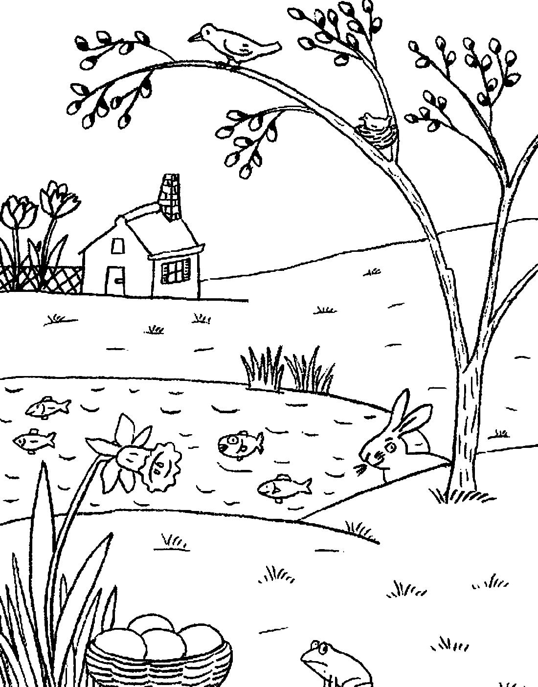 догнал весенние картинки раскраски для малышей ядовитые грибы средней