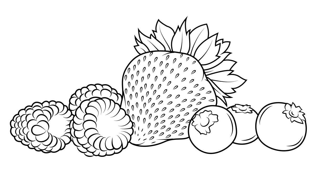 как познакомить малышей с ягодами