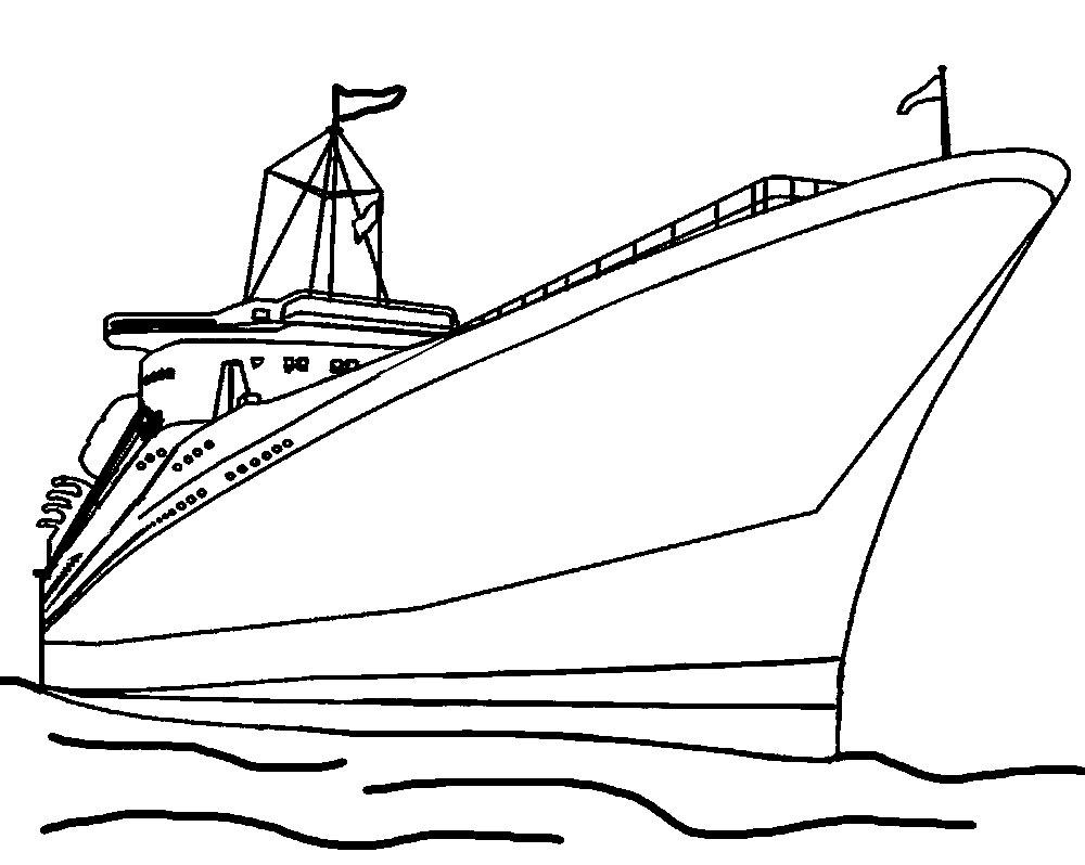 раскраски корабль детские раскраски распечатать бесплатно