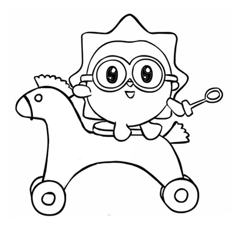 раскраска малышарики детские раскраски распечатать бесплатно