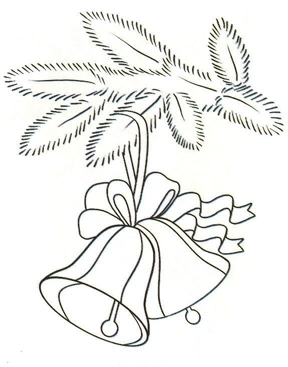 картинки чёрно белые новогодние