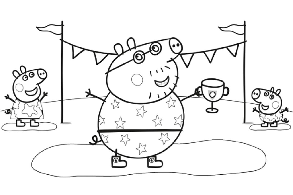 Играть онлайн бесплатно свинка пеппа раскраска