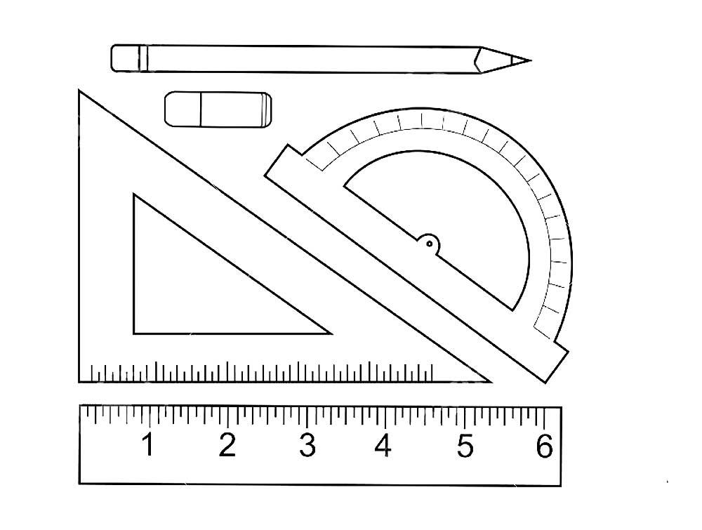 Как нарисовать математическую картинку карандашом