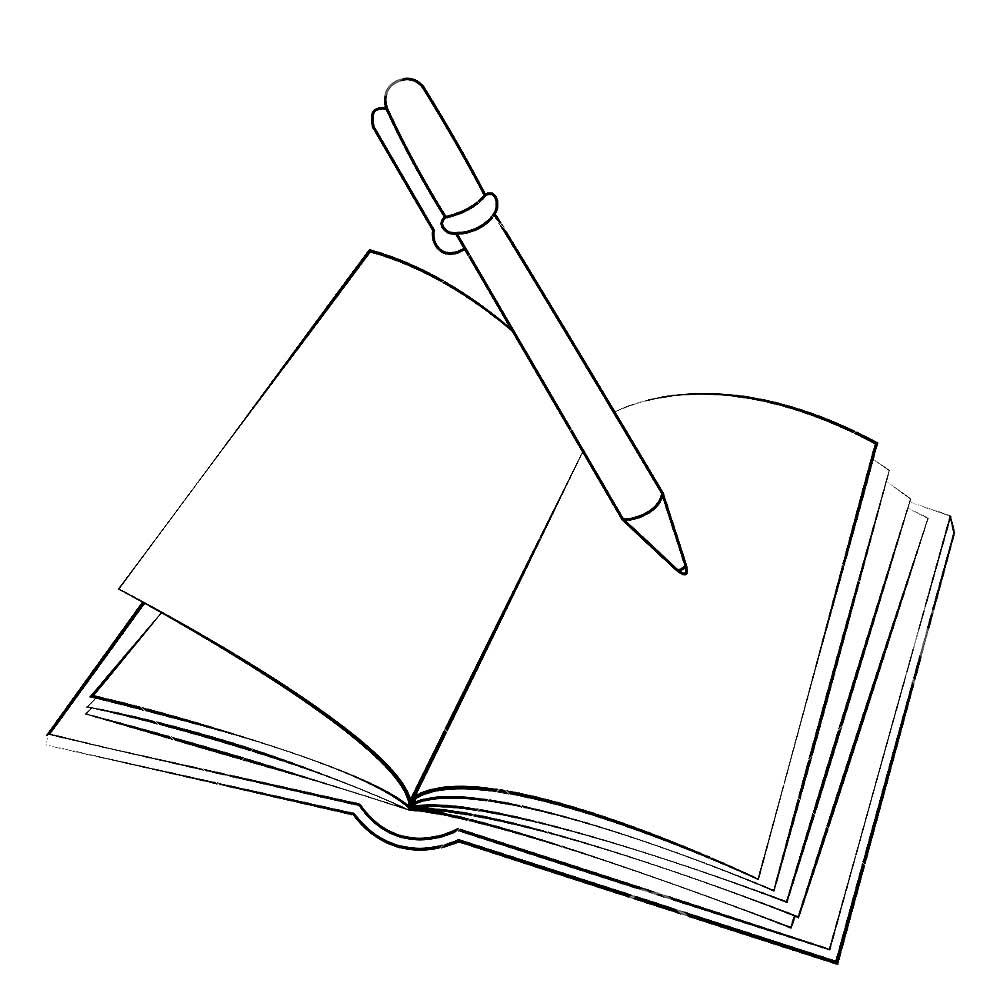 Школьные принадлежности картинки карандашом