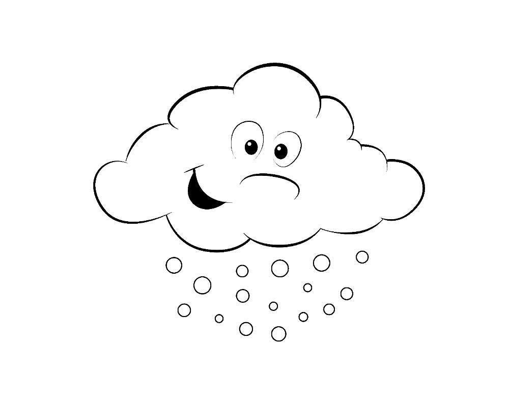 картинки облако для раскрашивания один проход выполняет