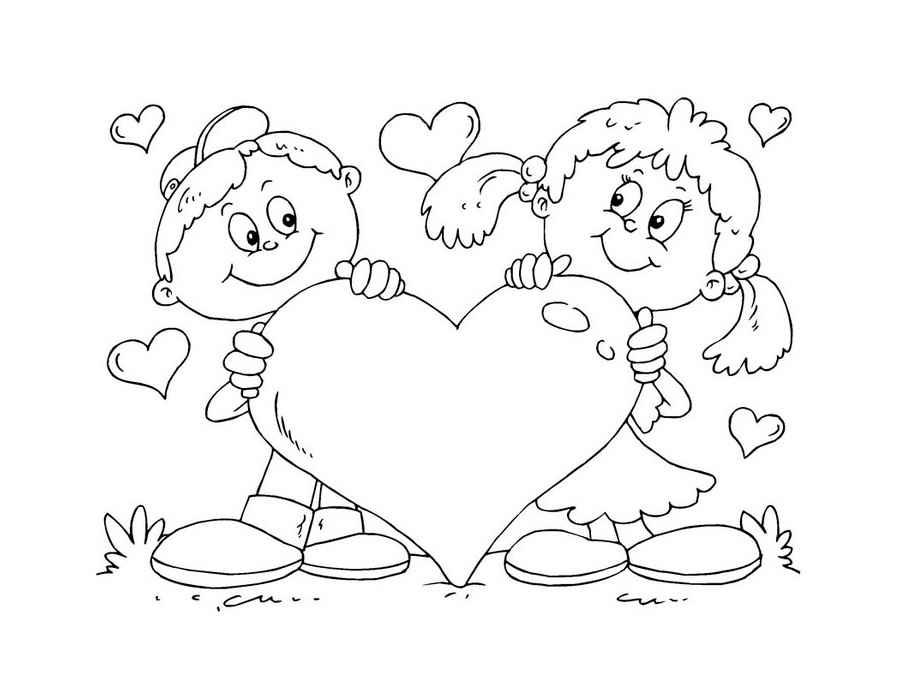 Рисунок валентинки 4 класс