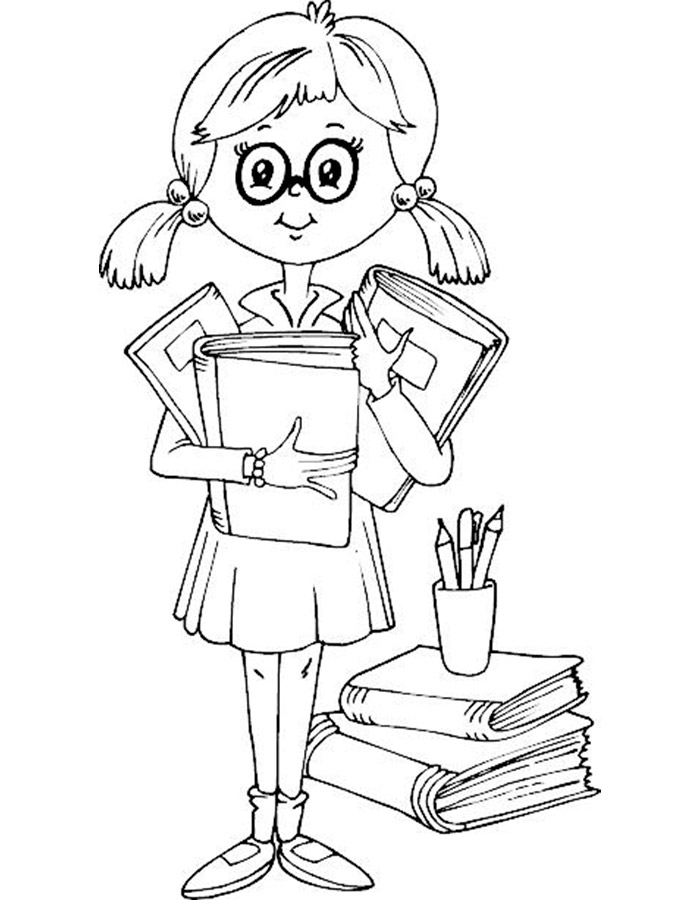 Little Girl Coloring Pages  GetColoringPagescom