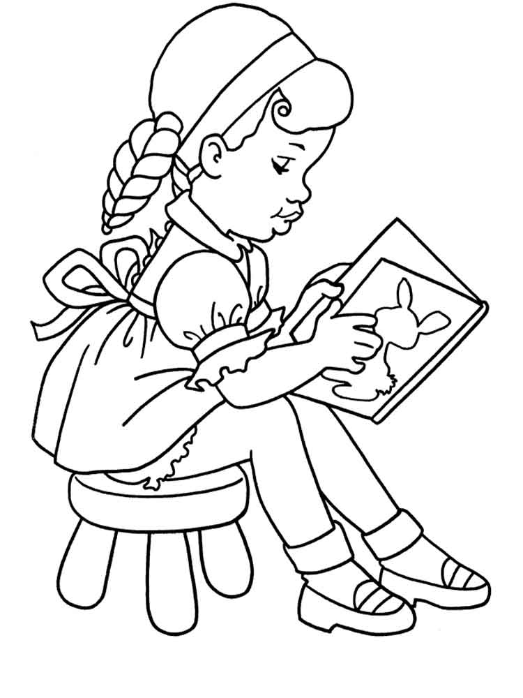 School Boys and Girls Coloring Pages Kids Videos Children