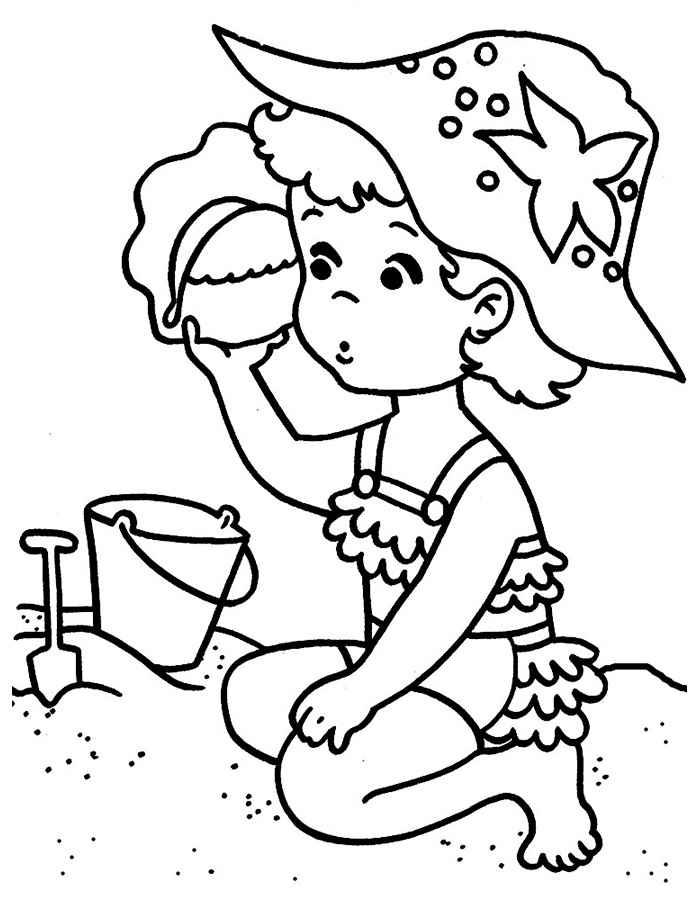 Раскраски для девочек и мальчиков 4-5 лет