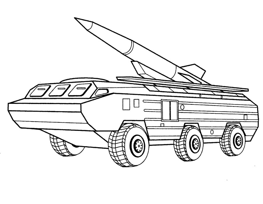 Раскраски Военная техника - детские раскраски распечатать ...