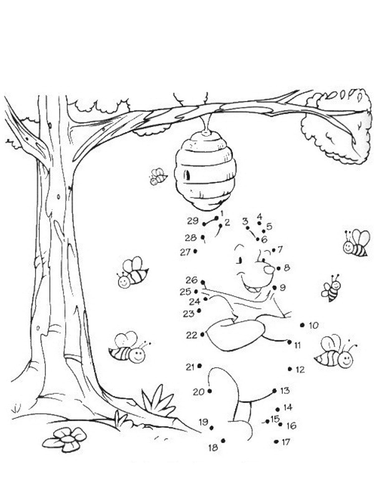 Раскраски по номерам из мультфильмов