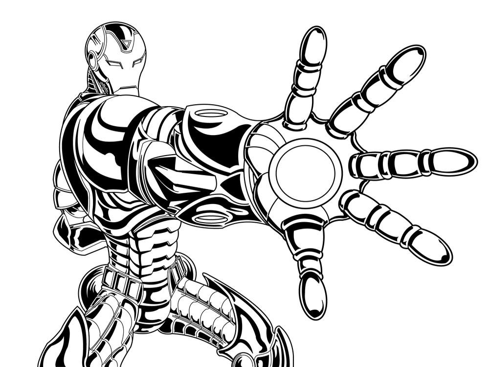 черно-белые картинки человека-паука и железного человека люди перестают