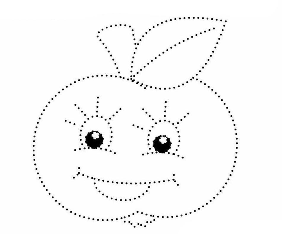 раскраски по точкам для детей 3 4 лет детские раскраски