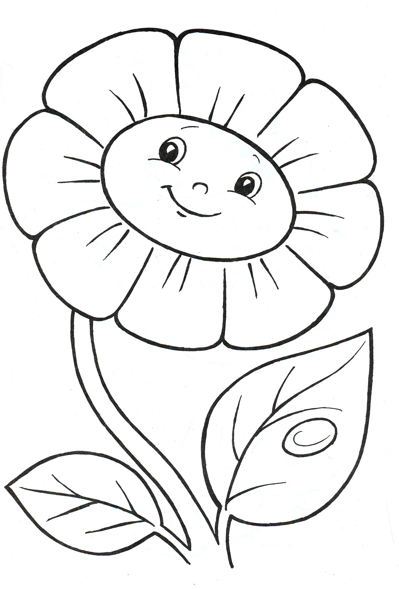 Раскраски для детей 2 3 лет распечатать - 9
