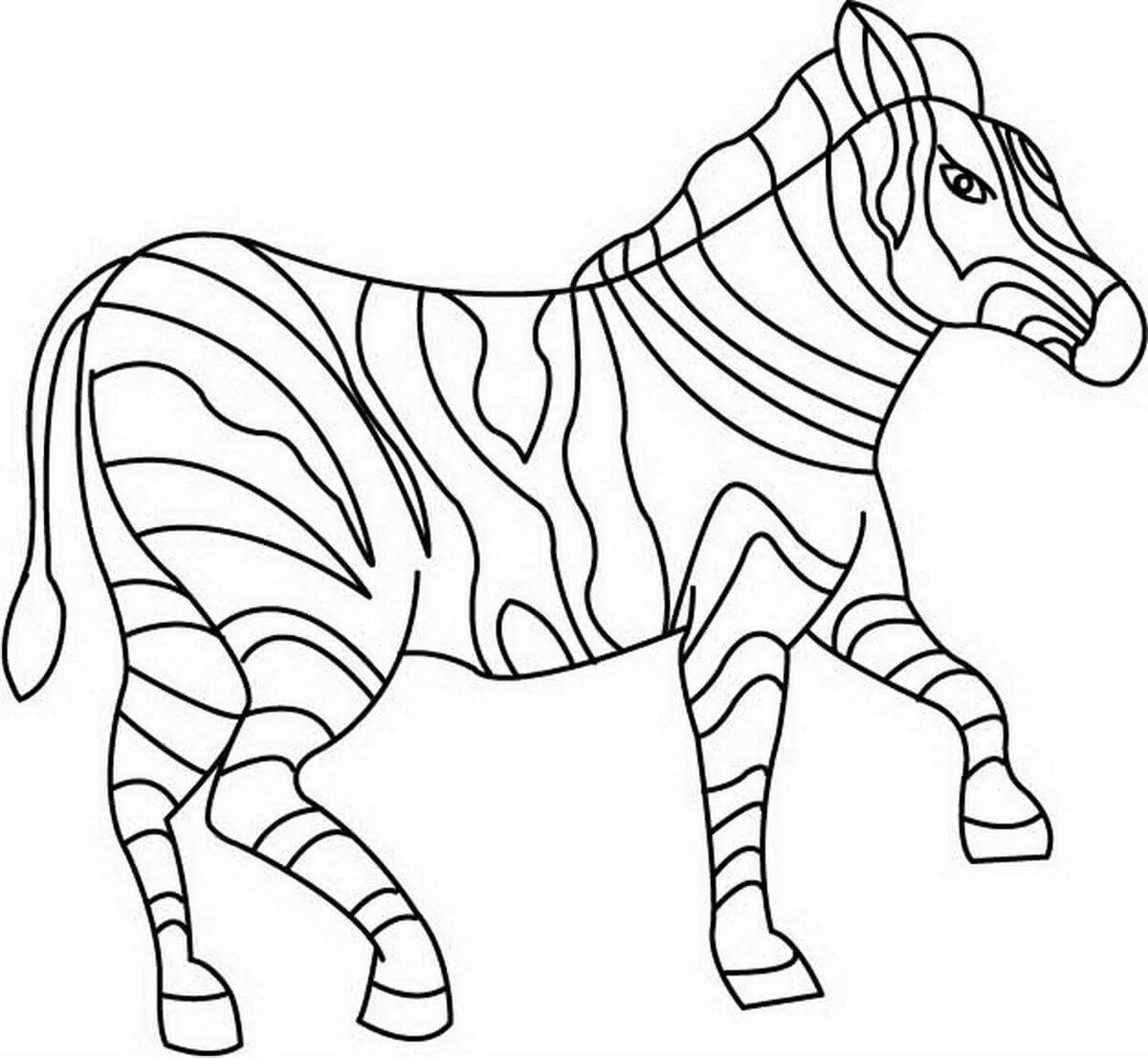 Раскраски с картинками животных