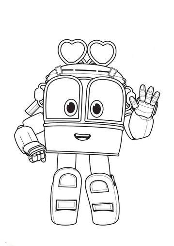 раскраски роботы поезда детские раскраски распечать бесплатно