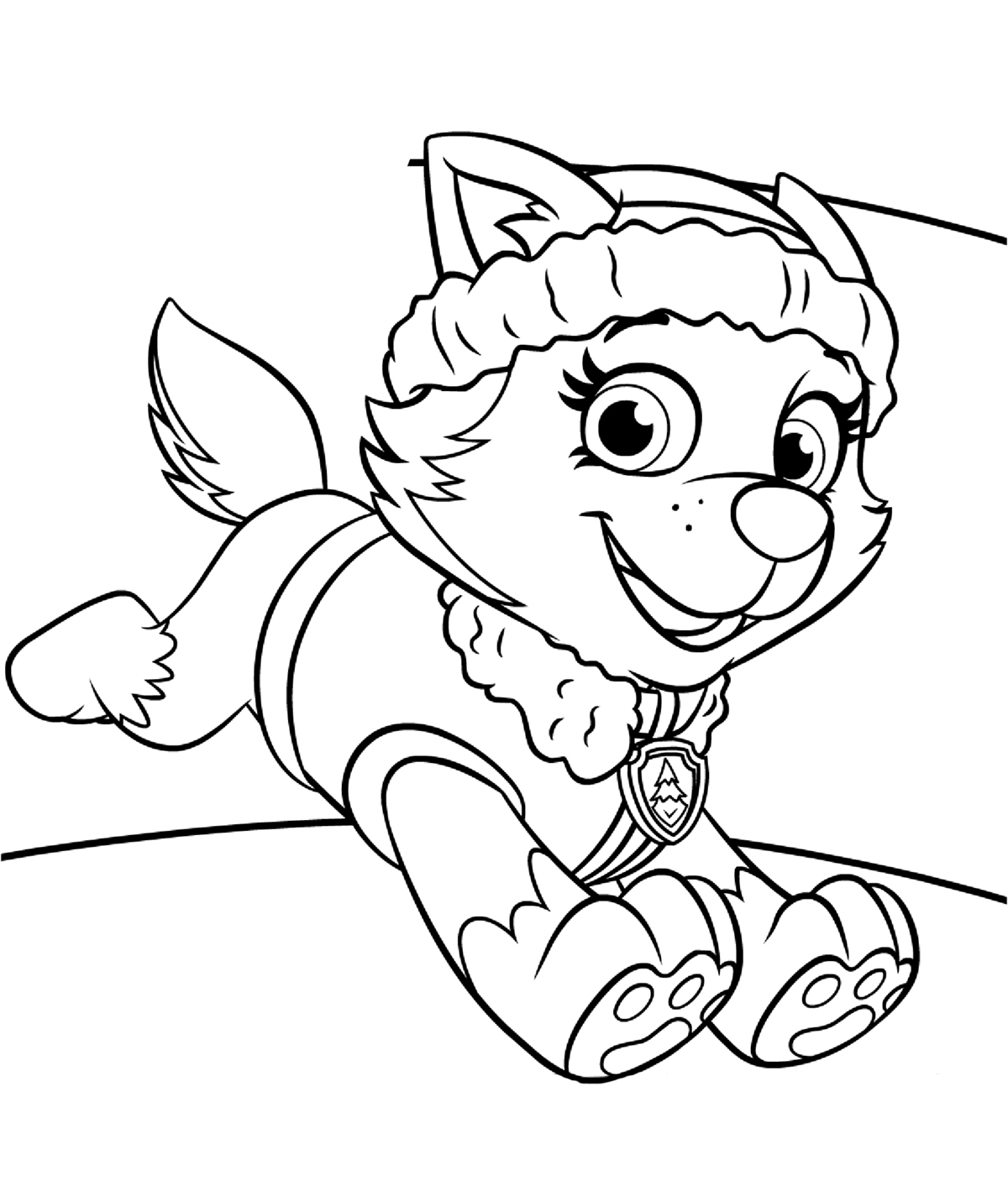 Paw Patrol Ryder Coloring Pages Coloring Pages