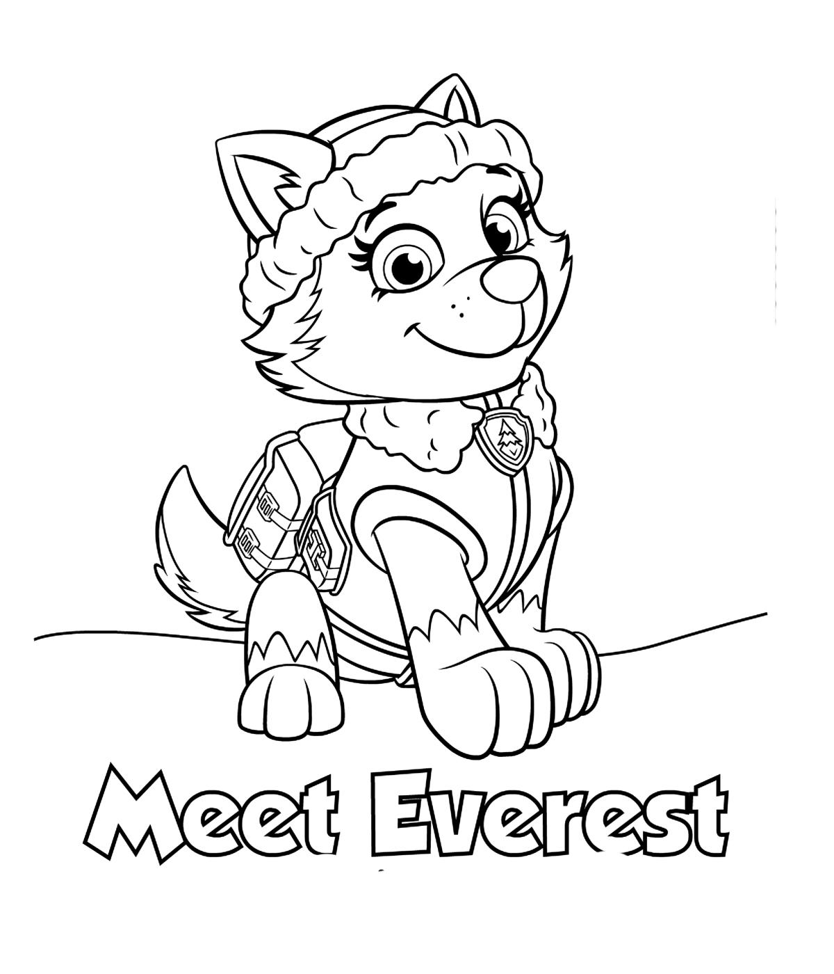 Раскраски щенячий патруль онлайн распечатать