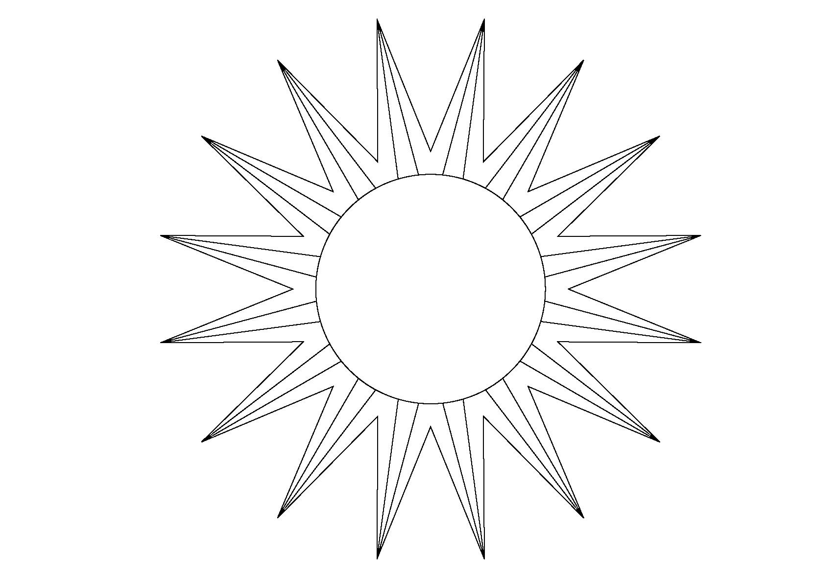Картинки для детей солнышко без лучиков