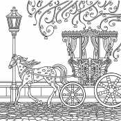 Красивая карета