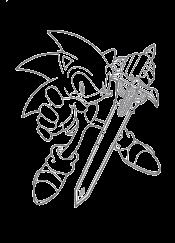 Соник с мечом