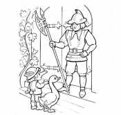Карлик нос и стражник
