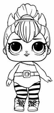 Кукла Лол - кошка
