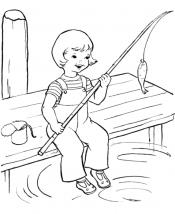 Рыбалка в деревне