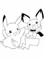 Пикачу и другие покемоны