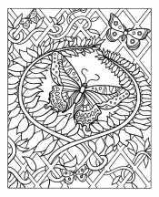 Антистресс бабочки