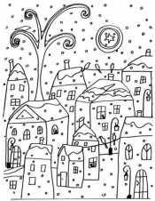 Картинка Зимний город