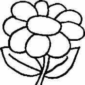 Цветы для детей