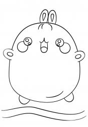 Кавайный заяц