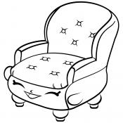 Кресло с улыбкой