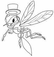 Комар в галстуке