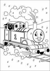 Томас под дождем