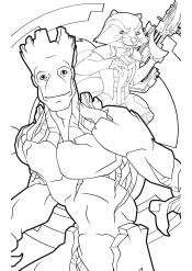 Грут и Ракета